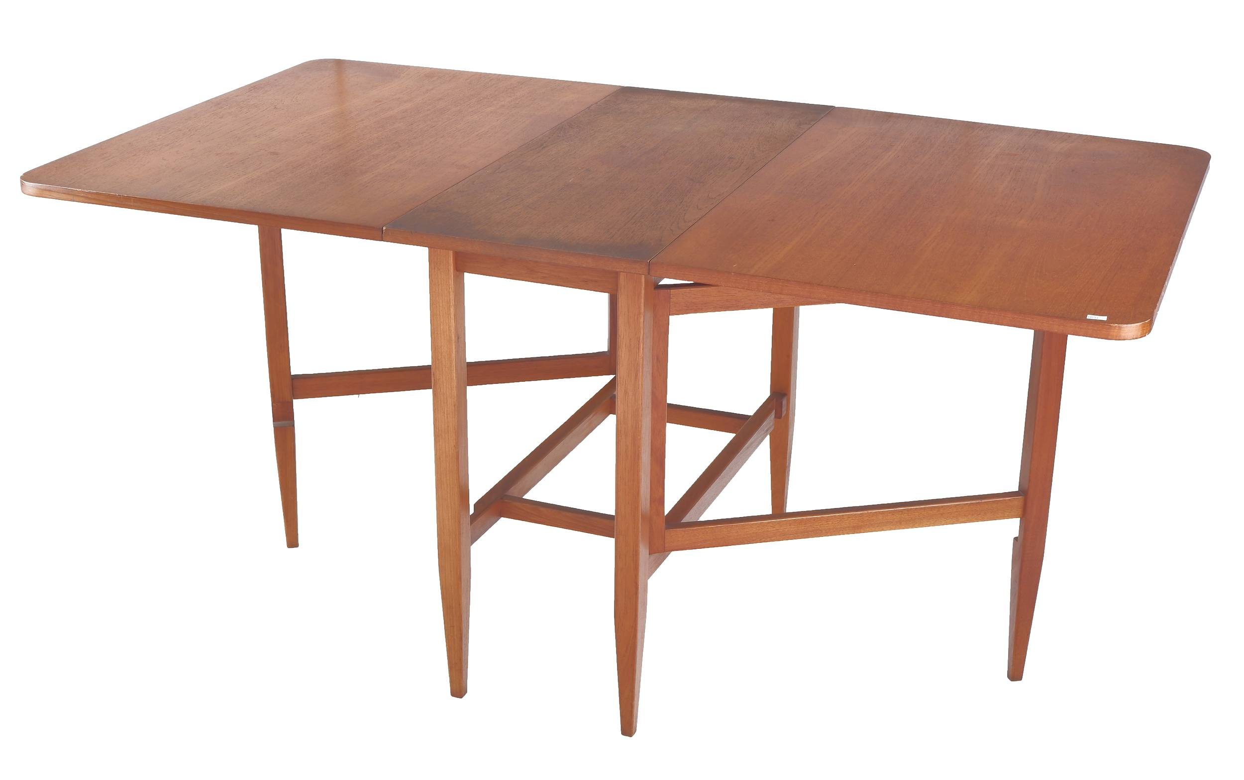 'Rare 1960s Parker Teak Gateleg Table'