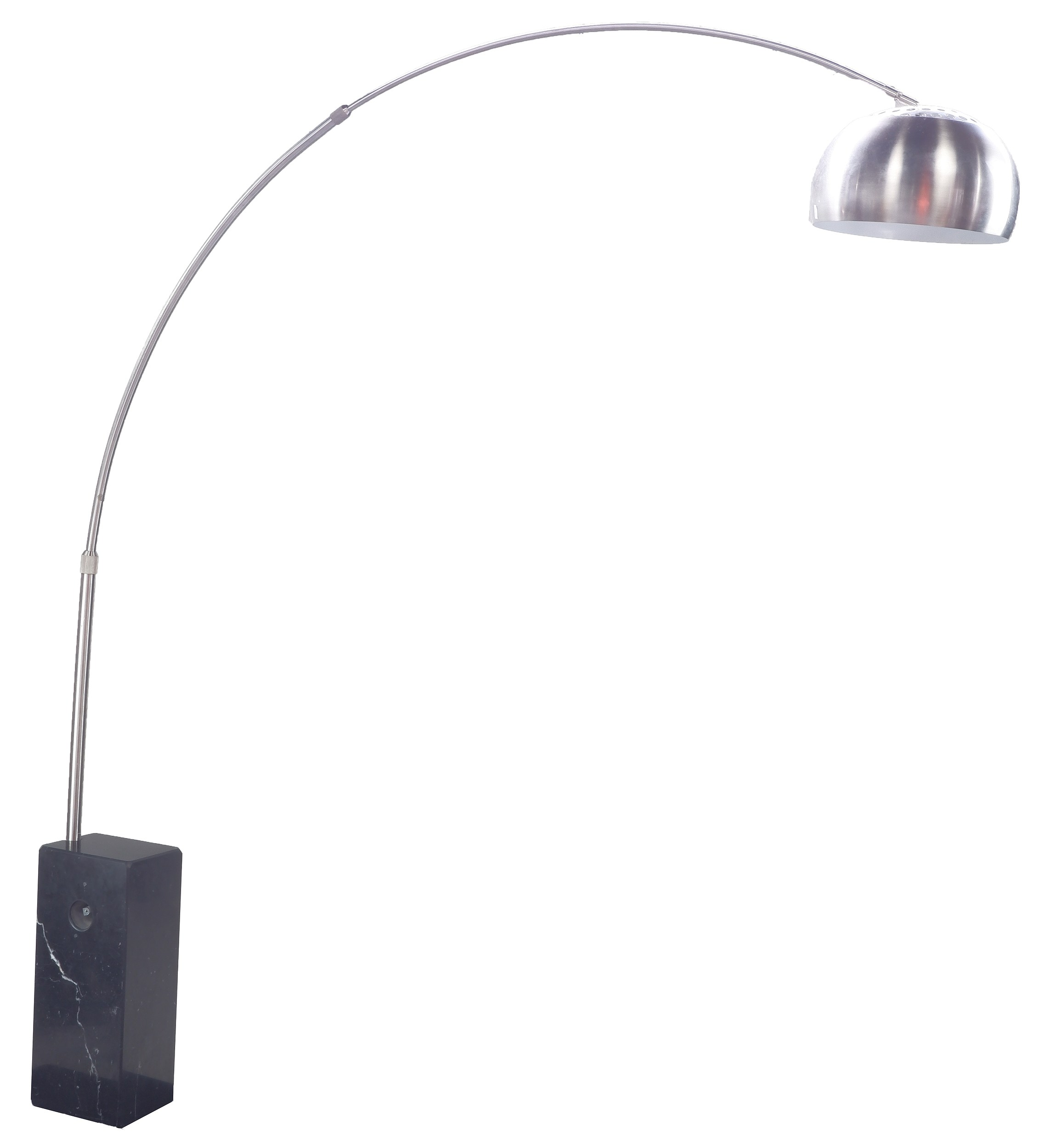 'Castiglioni Style Adjustable ARCO Floor Lamp'