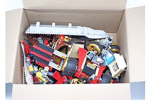 Boxed Lot Various LEGO. Unsorted.