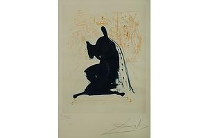 Bears signature DALI Salvador (Spanish 1904-1989) 'King of Aragon' 1971