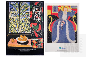 A Large Quantity of Australian Art Exhibition Posters, Including National Gallery of Australia and Art Gallery of New South Wales, Unframed, Various Sizes