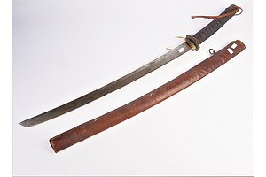 Japanese Military Sword, WWII or Earlier