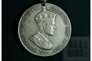 1937 Coronation Medal for Edward VII - Abdicated King