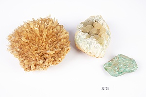 Group of Crystal and Gemstone Specimens