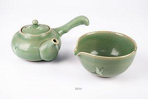 Korean Celadon Two Piece Tea Service
