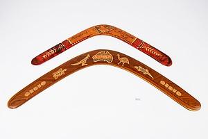 Two Vintage Boomerangs
