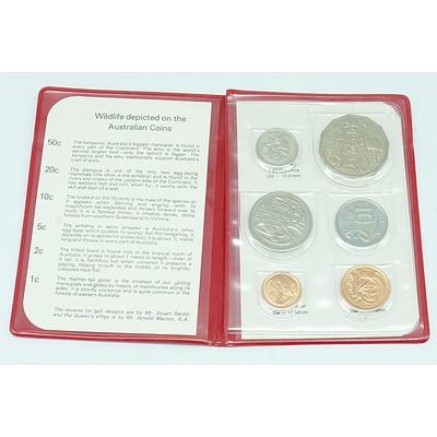 1981 RAM Wallet Australian Uncirculated Decimal Coin Set