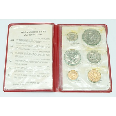 1980 RAM Wallet Australian Uncirculated Decimal Coin Set