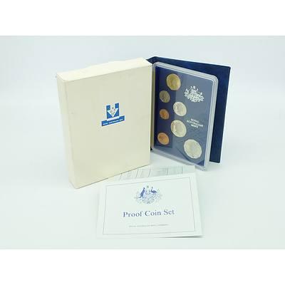 1987 RAM Proof Wallet Australian Proof Decimal Coin Set