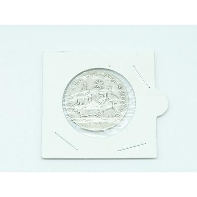 Australian 1922 Florin Coin