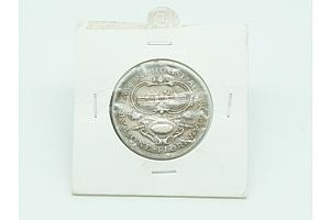 Australia: Silver Florin 1927 Canberra