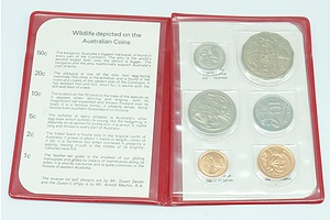 1981 RAM Wallet Australian Uncirculated Decimal Coin Set