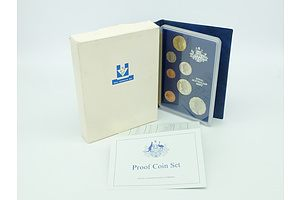 1987 RAM Proof Wallet Australian Proof Decimal Coin Set