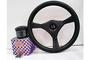 Momo Steering Wheel With Two Boss Kits