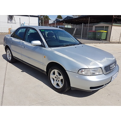 5/1998 Audi A4 1.8  4d Sedan Silver 1.8L