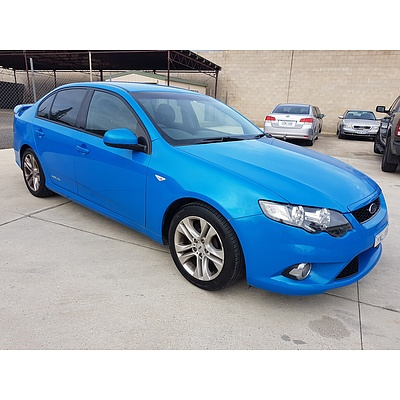 5/2009 Ford Falcon XR6 FG 4d Sedan Blue 4.0L