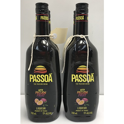 Passoa Passion Fruit Liqueur -Four Bottles