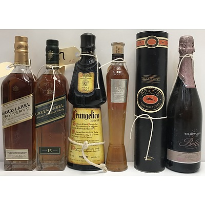 Mixed Alcohol -Six Bottles