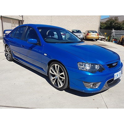 3/2005 Ford Falcon XR8 BA MKII 4d Sedan Blue 5.4L