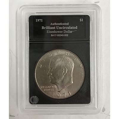 1971 Eisenhower Dollar, Bradford Exchange