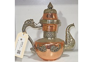 Tibetan Copper Coffee Pot