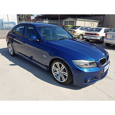 3/2010 Bmw 3 20i Executive E90 MY09 4d Sedan Blue 2.0L