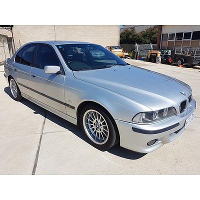 10/2000 Bmw 5 25i Sport E39 4d Sedan Silver 2.5L