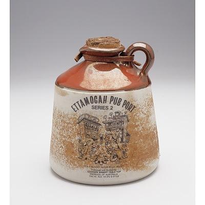 Ettamogah Pub Port Series 2 in Stoneware Decanter with Contents