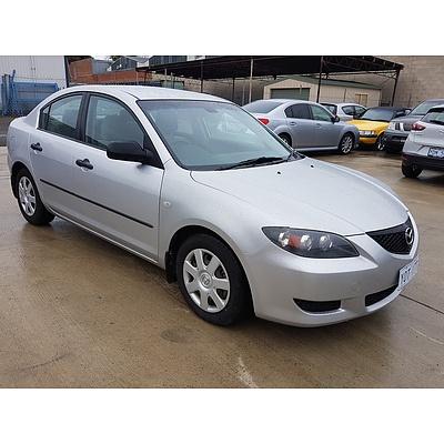 1/2005 Mazda Mazda3 NEO BK 4d Sedan Silver 2.0L