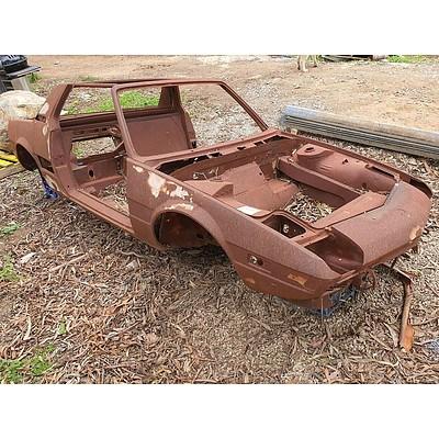 Fiat X1/9 Bare Shell