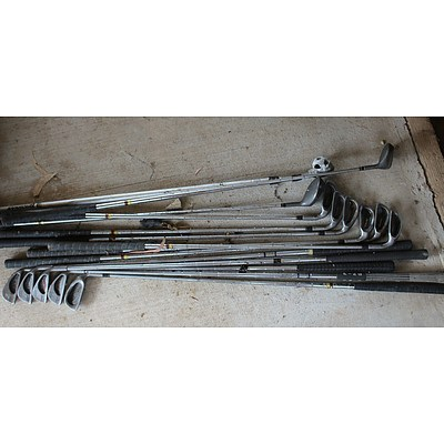 Brosnan and Ping Right Handed Golf Clubs - Lot of 13