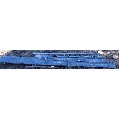 Metal Abattoir Carcass Rail Components
