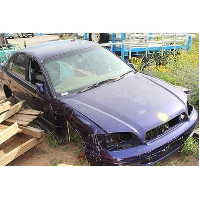 2005 Subaru Liberty RX 2.5 Car Body