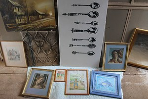 Prints, Paintings and Mirror- Lot of 10