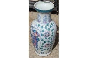 Ornate Ceramic Vase