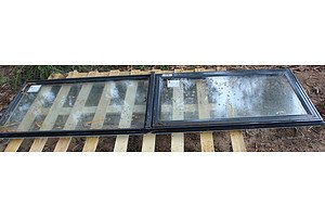 Aluminium Windows - Lot of Three