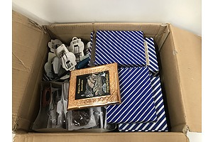 Large Lot Of Assorted Giftwares -Picture Frames, Glasses