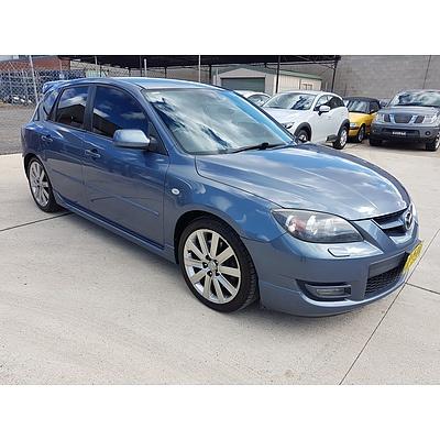 11/2006 Mazda Mazda3 MPS Sports PACK BK 5d Hatchback Blue 2.3L