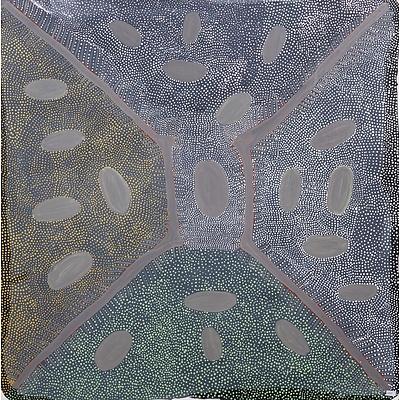 Ada Bird Petyarre (c1930-2009, Eastern Anmatyerr language group), Womens Dreaming - Aweyle 1995, Acrylic on Canvas