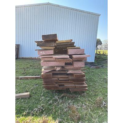 Australian Red Cedar Hardwood Timber - 2.34 Cubic Metres