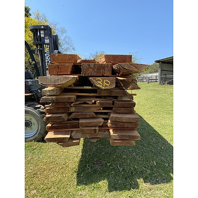 Australian Red Cedar Hardwood Timber - 1.45 Cubic Metres