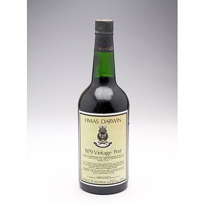 HMAS Darwin 1979 Vintage Port 750ml