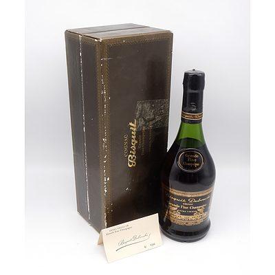 Bisquit Dubouche Grande Fine Champagne Cognac - Extra Vielle - Bottle No 1396