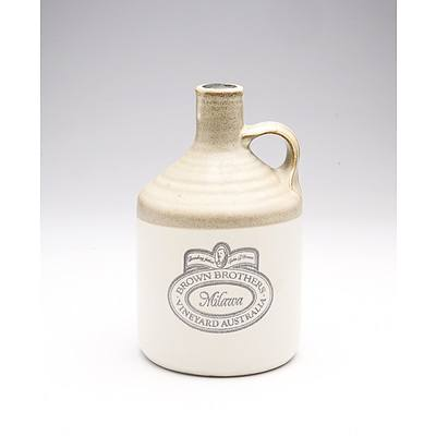 Brown Brothers Milawa Port in Stoneware Decanter