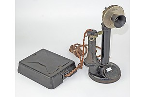 Antique PMG Candlestick Phone
