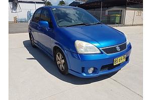 3/2005 Suzuki Liana   4d Sedan Blue 1.8L