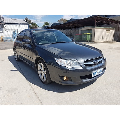 4/2007 Subaru Liberty 2.5i MY07 4d Sedan Grey  2.5L