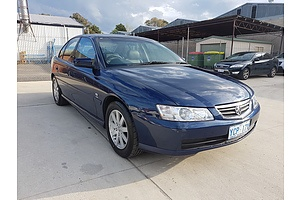 3/2003 Holden Berlina  VY 4d Sedan Blue 3.8L