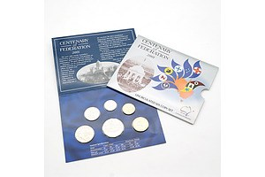 2001 Centenary of Federation Uncirculated Six Coin Set