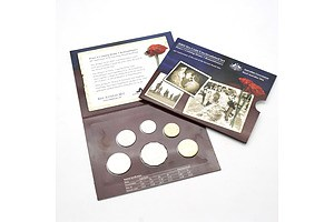 2005 60th Anniversary of the End of the Second World War Uncirculated Six Coin Set